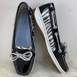 Sperry Black Top Sider Angelfish Boat Shoes